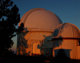 Sunrise at the Lick Observatories