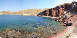 Santorini Red Beach Panormic