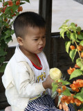 Le garçon à l'ananas - Delta du Mékong - Vietnam