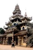 Temples autour de Dalat-Vietnam