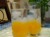 Orange Jelly with Lecy