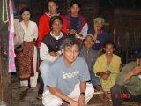 Bersama Keluarga Pak Sarimin - Kuncen Merapi Pos Selo