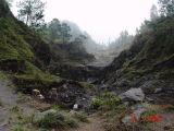 Kali Adem - jalur turunnya lahar dari puncak gunung