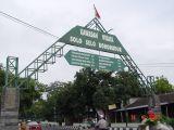 Gapura di Boyolali via Solo menuju Merapi
