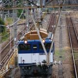 Loko kereta barang di Tsurumi