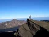 Mid Peak sebelum puncak Rinjani