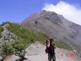 berpapasan dgn pendaki yg turun gunung
