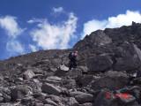The last push to the peak