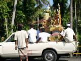 preparing the Procession