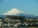 Mount Fuji taken from Shinkansen