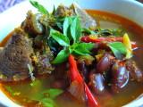 Sup Asam Pedas Iga Kacang merah