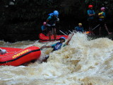 Brown Water Rafting, Cicatih, Sukabumi
