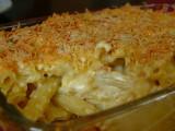 Penne Cheese Sauce Bechamel