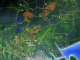 Badak NGL Bontang Map