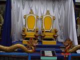 singgasana raja2 - Museum Tenggarong