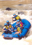 Rafting di Sungai Cicatih