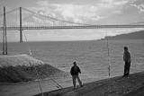 fishermen and 25-th of April bridge