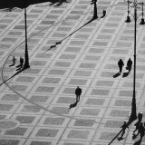 loneliness in the main square