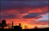 Sunset at Ljubljana Moor