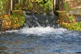 La retenue d'eau à Villevêque