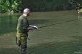Un pêcheur à Villevêque