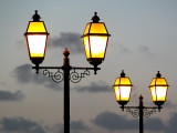 Twin lamps