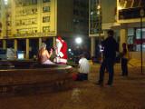 Papai Noel na Candelária - Natal 2006 - reportagem para o Fantástico