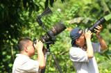 Kinabatangan - Choo Tse Chien (foreground with 300mm f2.8) Wong Tsu Shi with 300mm f4