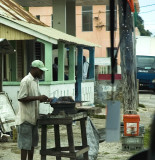 Cooking in Lucea