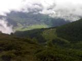 Zicht op het Virgental tussen Zunigalm en Arnitzalm