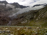 Simony See en Simony Kees(gletscher)