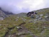 Afdaling vanaf Eisseehütte