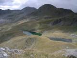 Vanaf Gritzer Hörndle zicht op Gritzer Seen