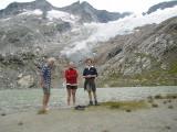 Willem, Meike en Arnoud bij Simony See