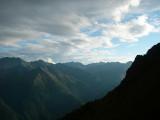Vanuit Sajathütte zicht op overzijde Virgental