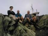 Arnoud, Hans en Willem  op de Lasörling