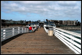 Crystal Pier on Memorial Day
