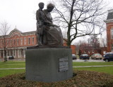 Young Edison Statue Milan OH