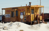 UP Caboose @ Souix City IA