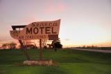 Sundown at the Seneca Motel