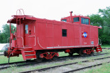 Blue Valley KS Caboose