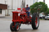 Tractor on Parade