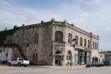 Alma KS - Native Stone Building Business District