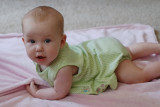 Natalee Attempts to Crawl