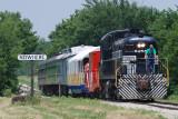Train at NoWhere Kansas
