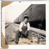 Doyle Working on Railroad