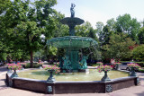 Fountain in Madison IN