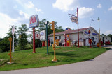 Gas Signs and Pumps Display