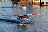 Taxing Float Plane