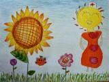 circle imaginations, Meline, age:5.5